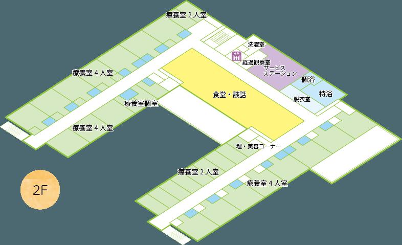 エスポアール城西平面図2階
